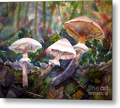 Three's Company Metal Print by Martha Ayotte