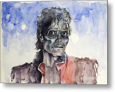 Thriller 2 Metal Print by Bekim Art