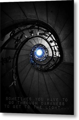 Through Darkness To Light... Metal Print by Marianna Mills