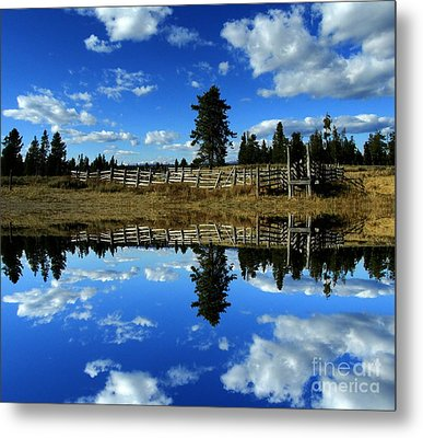 Through My Eyes Metal Print