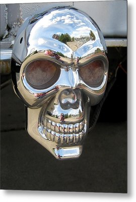 Metal Print featuring the photograph Through My Eyes by Marie Neder