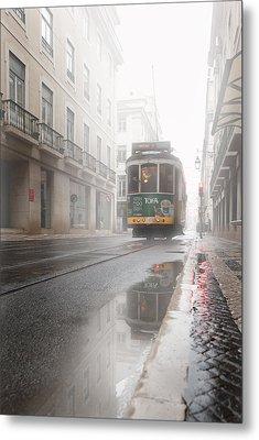 Through The Fog Metal Print by Jorge Maia