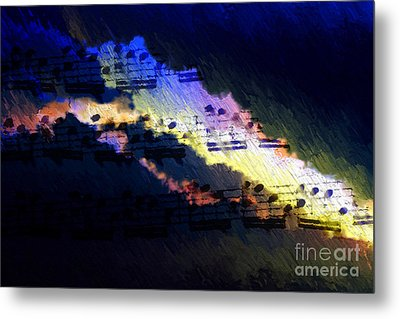 Metal Print featuring the digital art Through The Storm by Lon Chaffin
