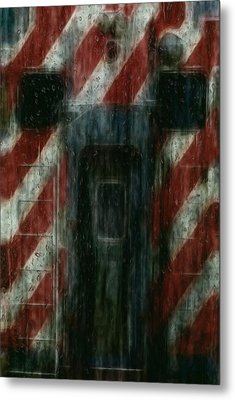 Through The Window On A Rainy Day In May Metal Print by Jack Zulli