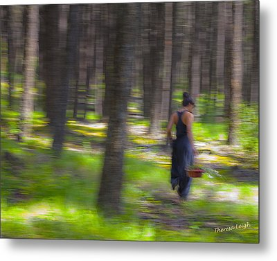 Through The Woods 2 Metal Print by Theresa Tahara