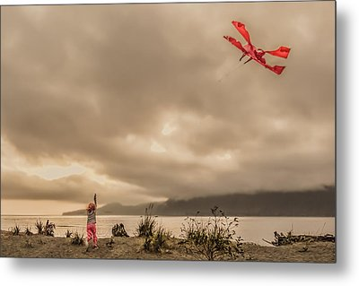 Throw Your Dreams...without Quote Metal Print by R J Ruppenthal