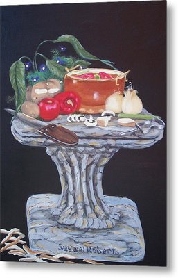 Thrown Together Metal Print by Susan Roberts