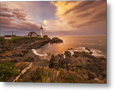 Thunder Cove Metal Print by Joseph Rossbach