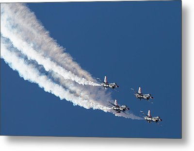 Thunderbird Loop Metal Print by John Daly