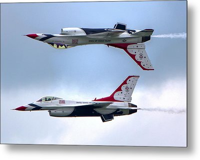 Thunderbirds Metal Print by Brent Durken