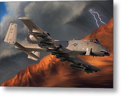 Thunderbolt II Metal Print by Dale Jackson