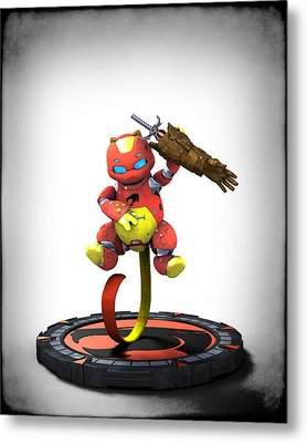 Thundercats 3000 - Snarf 2.0 Metal Print by Frederico Borges