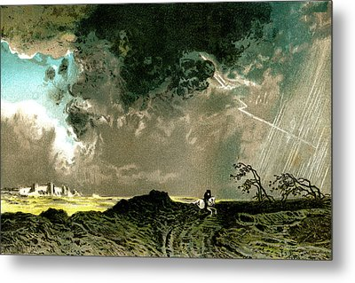 Thunderstorm Metal Print by Collection Abecasis