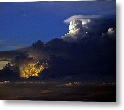 Metal Print featuring the photograph Thunderstorm II by Greg Reed
