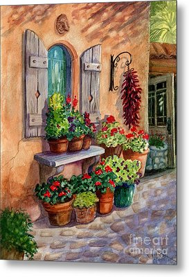 Tia Rosa's Place Metal Print by Marilyn Smith