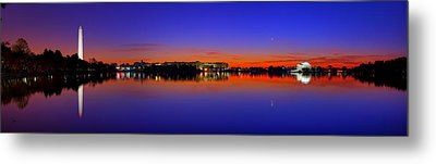 Tidal Basin Sunrise Metal Print by Metro DC Photography