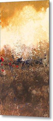 Tidal Sunrise Panel 2 Metal Print
