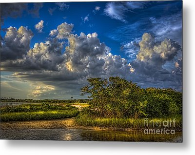 Tide Water Metal Print by Marvin Spates