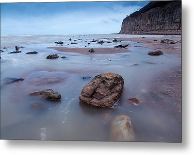 Tides In Metal Print