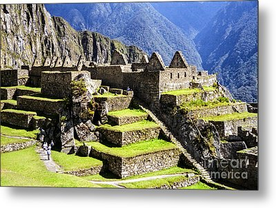 Tiers Metal Print by Suzanne Luft