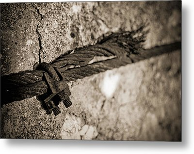 Metal Print featuring the photograph Ties That Bind by Amber Kresge