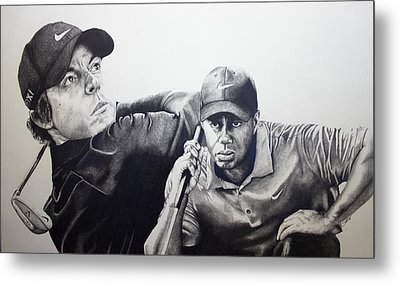 Tiger And Rory Metal Print by Jake Stapleton