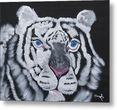 Jungle Eyes Metal Print