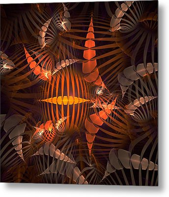 Tiger Shrimp Metal Print