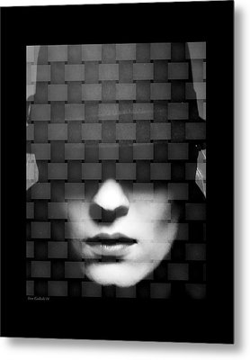 Tightly Woven Metal Print by Steve Godleski