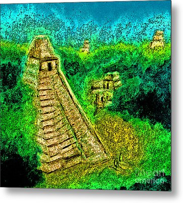Tikal By Jrr Metal Print by First Star Art