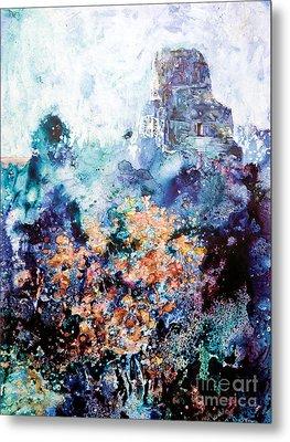Tikal Ruins Metal Print