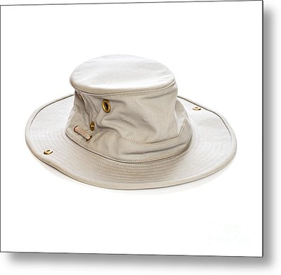 Tilley Hat Metal Print by Colin and Linda McKie