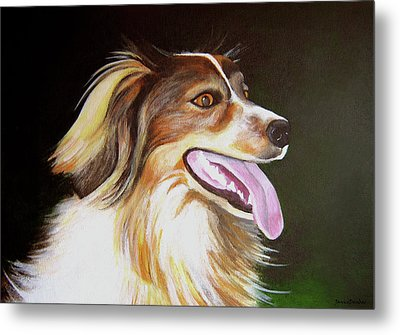 Metal Print featuring the painting Tillie by Janice Dunbar