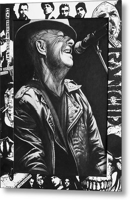 Tim Armstrong Metal Print by Steve Hunter