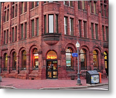 Tim Hortons Coffee Shop Metal Print by Glenn Gordon