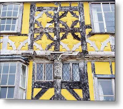 Timber Framed House Metal Print by Ashley Cooper