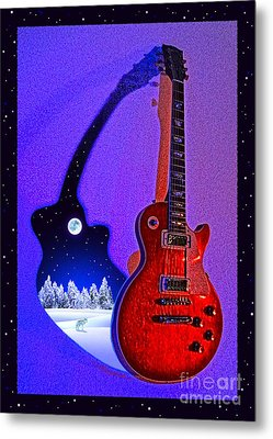 Magic To The World... Music To The World .1 Metal Print by Gem S Visionary