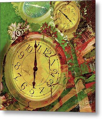 Time 6 Metal Print by Claudia Ellis