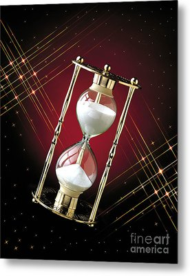 Time And Space Metal Print by Gary Gingrich Galleries