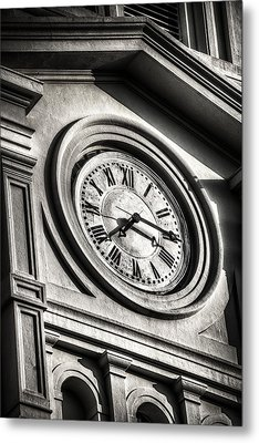 Time Metal Print by Brenda Bryant