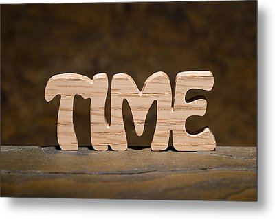 Time Metal Print by Donald  Erickson