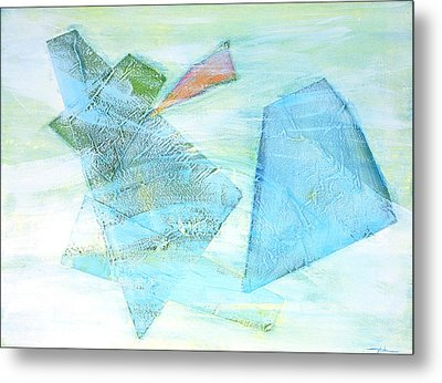 Time Flying By  Metal Print by Asha Carolyn Young