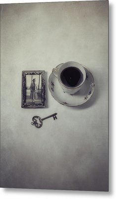 Time For Coffee Metal Print by Joana Kruse