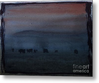 Time For Grazing Metal Print by Erica Hanel