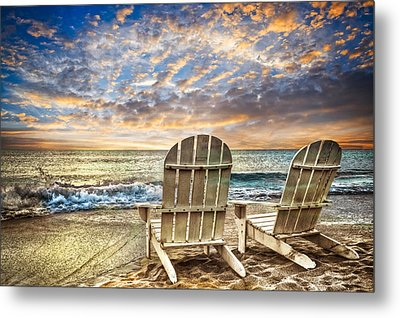 Time For Happy Hour Metal Print