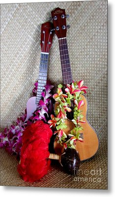 Time For Hula Metal Print by Mary Deal