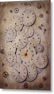 Time Forgotten Metal Print by Garry Gay