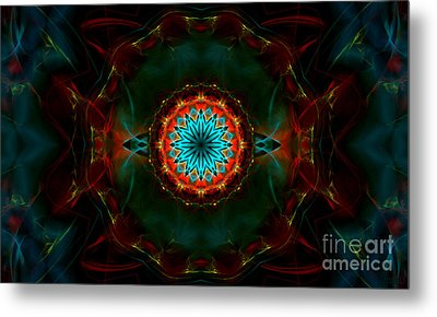 Time Gate Metal Print by Hanza Turgul