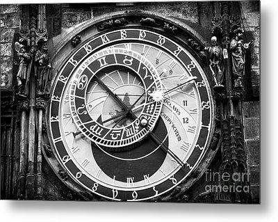 Time In Prague Metal Print by John Rizzuto
