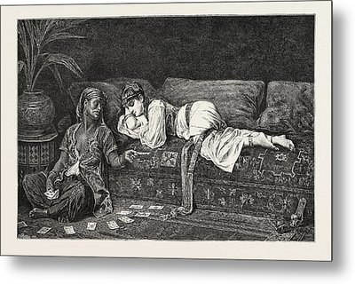 Time In The Harem Metal Print by Litz Collection